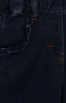 Детские джинсы TARTINE ET CHOCOLAT темно-синего цвета, арт. TP22041/18M-3A | Фото 3 (Материал внешний: Хлопок; Ростовка одежда: 18 мес | 86 см, 24 мес | 92 см, 36 мес | 98 см)