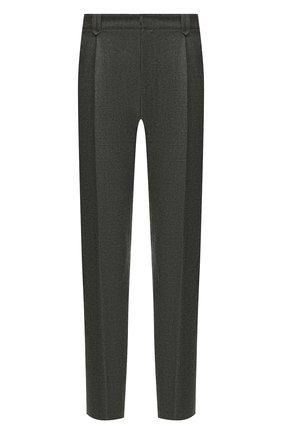 Мужской шерстяные брюки BRIONI темно-серого цвета, арт. RPN60L/06AAF/D0L0MIA | Фото 1