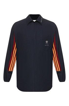 Мужская рубашка adidas originals x bed j.w. ford ADIDAS ORIGINALS темно-синего цвета, арт. FI8838 | Фото 1