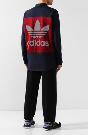 Мужская рубашка adidas originals x bed j.w. ford ADIDAS ORIGINALS темно-синего цвета, арт. FI8838 | Фото 2