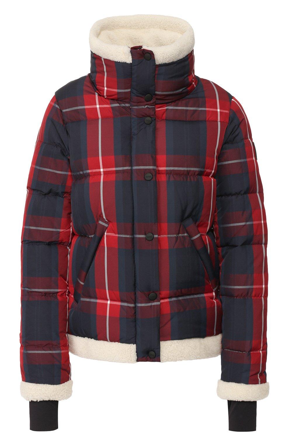 Женский пуховая куртка SAM красного цвета, арт. XW9074UDQ | Фото 1