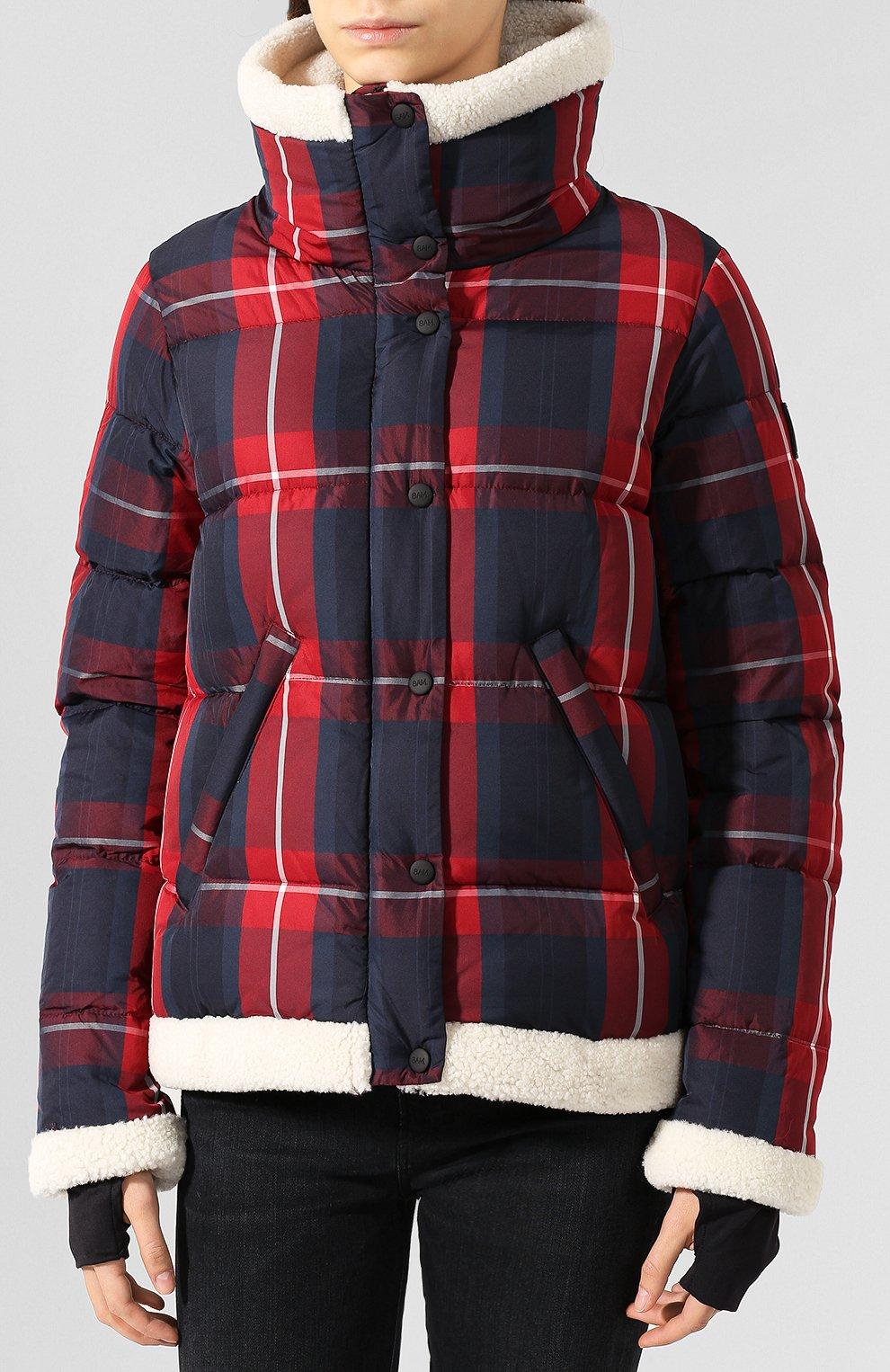 Женский пуховая куртка SAM красного цвета, арт. XW9074UDQ | Фото 3