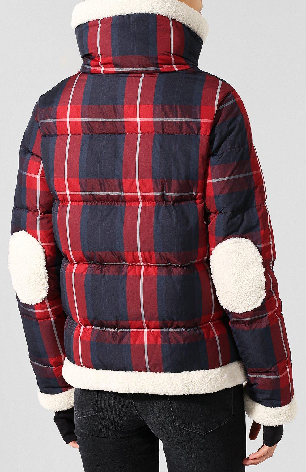 Женский пуховая куртка SAM красного цвета, арт. XW9074UDQ | Фото 4