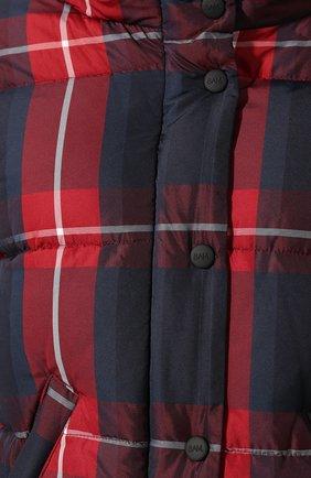 Женский пуховая куртка SAM красного цвета, арт. XW9074UDQ | Фото 5