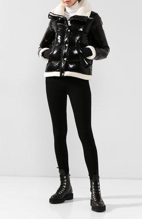 Женский стеганый пуховик SAM черного цвета, арт. XW9070NDQ | Фото 2