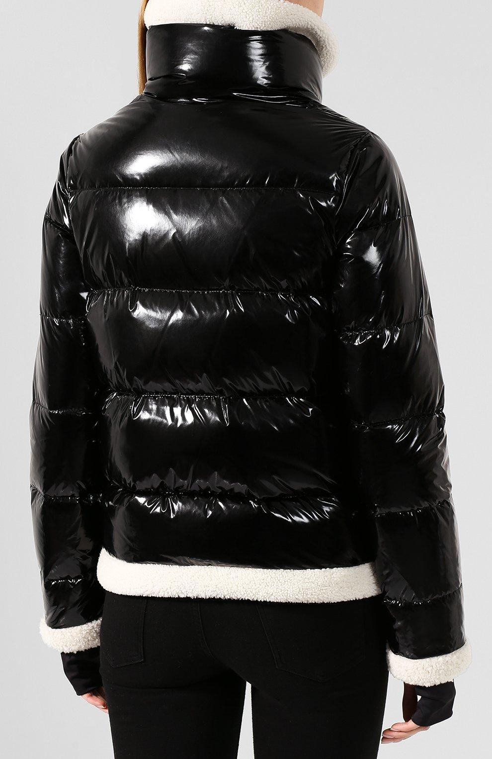 Женский стеганый пуховик SAM черного цвета, арт. XW9070NDQ | Фото 4