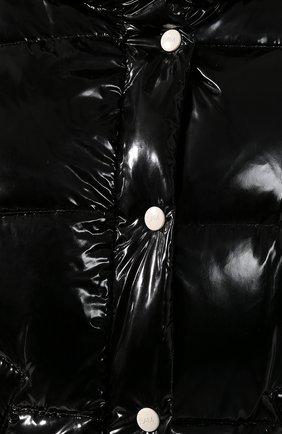 Женский стеганый пуховик SAM черного цвета, арт. XW9070NDQ | Фото 5