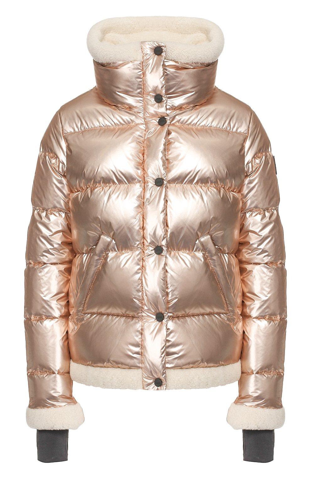 Женский пуховая куртка SAM золотого цвета, арт. XW9050NDQ | Фото 1