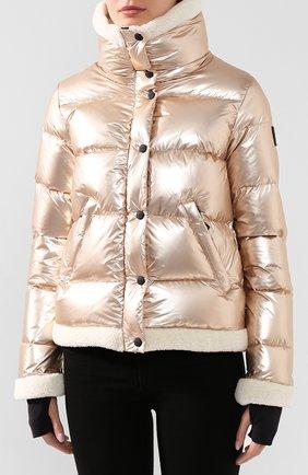 Женский пуховая куртка SAM золотого цвета, арт. XW9050NDQ | Фото 3