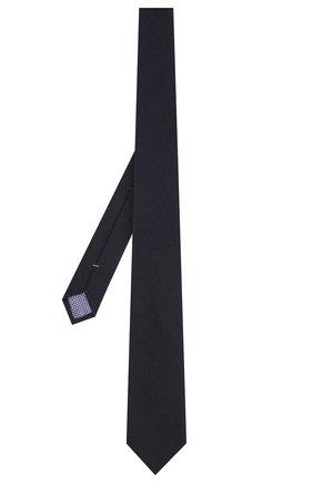 Мужской галстук из смеси шерсти и хлопка ETON темно-синего цвета, арт. A000 31881 | Фото 2
