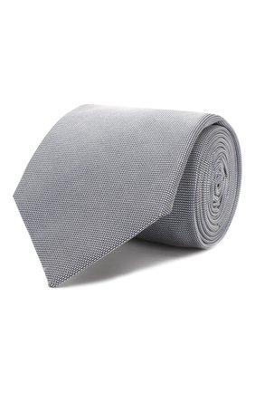 Мужской шелковый галстук CORNELIANI серого цвета, арт. 84U390-9820320/00   Фото 1