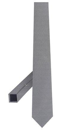 Мужской шелковый галстук CORNELIANI серого цвета, арт. 84U390-9820320/00   Фото 2
