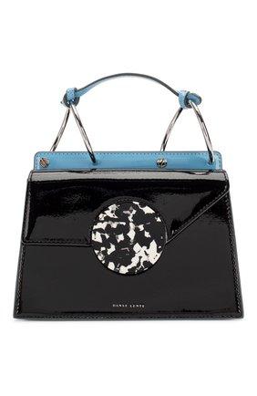 Женская сумка phoebe bis DANSE LENTE черного цвета, арт. PH0EBE BIS/BLACK/CELESTIAL | Фото 1