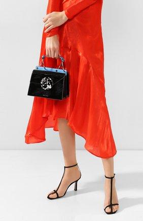 Женская сумка phoebe bis DANSE LENTE черного цвета, арт. PH0EBE BIS/BLACK/CELESTIAL | Фото 2