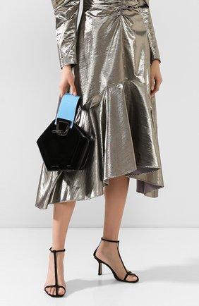 Женская сумка johnny mini DANSE LENTE черного цвета, арт. MINI J0HNNY/JET BLACK/CELESTIAL | Фото 2