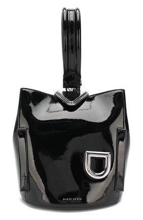 Женская сумка josh DANSE LENTE черного цвета, арт. J0SH/BLACK/METAL | Фото 1