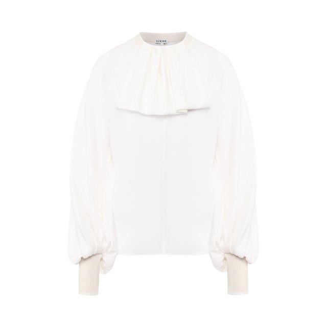 Шелковая блузка Loewe