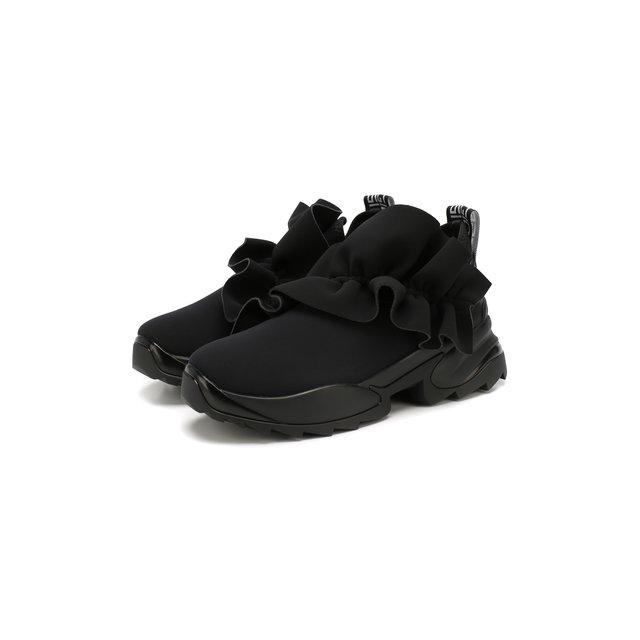 Текстильные кроссовки Sergio Rossi — Текстильные кроссовки
