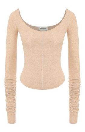 Женская пуловер LEMAIRE бежевого цвета, арт. W 193 KN407 LK077 | Фото 1