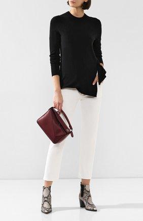 Женская кашемировый пуловер ALTUZARRA черного цвета, арт. 419-829-818 | Фото 2