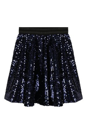 Детская юбка TWINSET синего цвета, арт. 192GJ2093/12A-16A | Фото 2