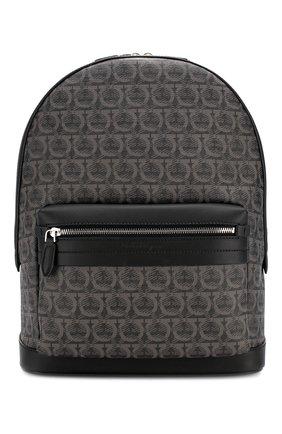 Мужской рюкзак SALVATORE FERRAGAMO черного цвета, арт. Z-0716629   Фото 1