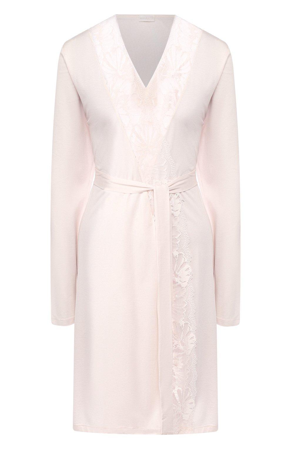 Женский халат ZIMMERLI светло-розового цвета, арт. 762-4096   Фото 1