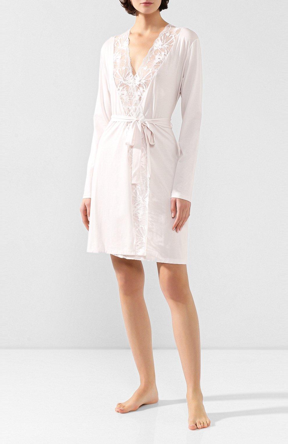 Женский халат ZIMMERLI светло-розового цвета, арт. 762-4096   Фото 2