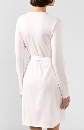 Женский халат ZIMMERLI светло-розового цвета, арт. 762-4096   Фото 4