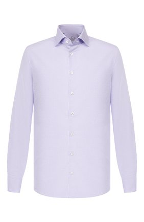 Мужская хлопковая сорочка VAN LAACK сиреневого цвета, арт. RIVARA-SFN/161496 | Фото 1