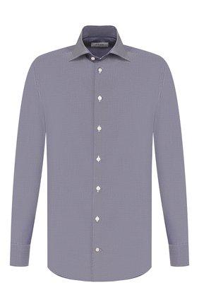 Мужская хлопковая сорочка ETON темно-синего цвета, арт. 1000 00084   Фото 1