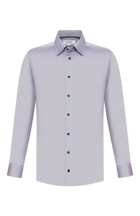 Мужская хлопковая сорочка ETON темно-синего цвета, арт. 1000 00242 | Фото 1