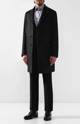 Мужская хлопковая сорочка ETON темно-синего цвета, арт. 1000 00242 | Фото 2