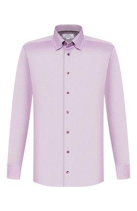 Мужская хлопковая сорочка ETON сиреневого цвета, арт. 1000 00242 | Фото 1