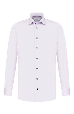 Мужская хлопковая сорочка ETON сиреневого цвета, арт. 1000 00264 | Фото 1