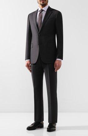 Мужская хлопковая сорочка ETON сиреневого цвета, арт. 1000 00264 | Фото 2