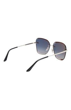 Женские солнцезащитные очки CARTIER синего цвета, арт. CT0147 003   Фото 4