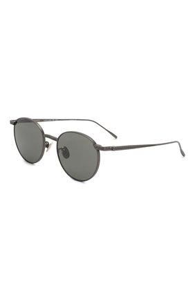 Женские солнцезащитные очки BOTTEGA VENETA темно-серого цвета, арт. BV0249 002   Фото 1