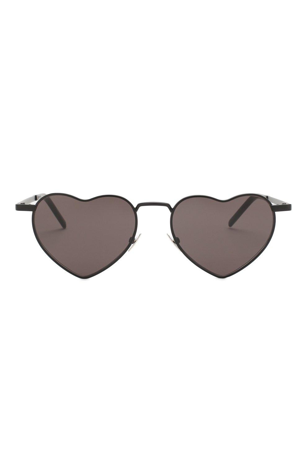 Женские солнцезащитные очки SAINT LAURENT черного цвета, арт. SL 301 L0UL0U 002 | Фото 3