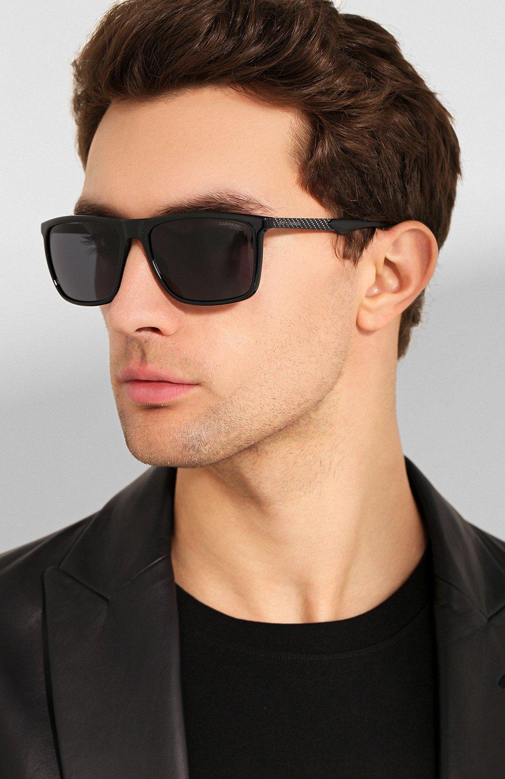 Мужские солнцезащитные очки CARRERA черного цвета, арт. CARRERA 8032 807 | Фото 2