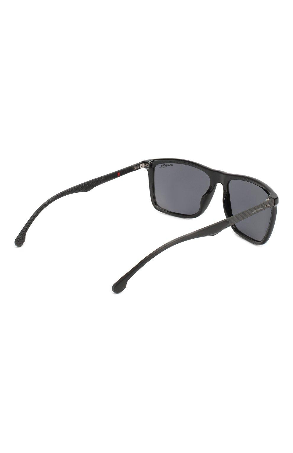 Мужские солнцезащитные очки CARRERA черного цвета, арт. CARRERA 8032 807 | Фото 4