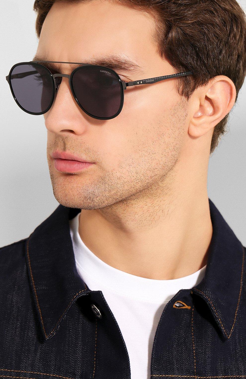 Женские солнцезащитные очки CARRERA темно-серого цвета, арт. CARRERA 8033/G V81 | Фото 3