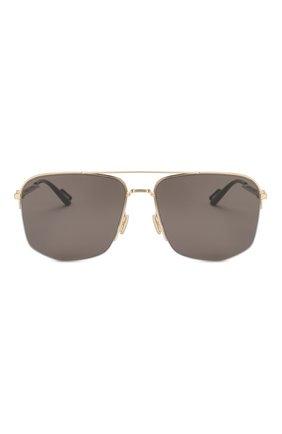 Мужские солнцезащитные очки DIOR черного цвета, арт. DI0R180 RHL | Фото 3