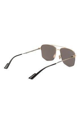 Мужские солнцезащитные очки DIOR черного цвета, арт. DI0R180 RHL | Фото 4