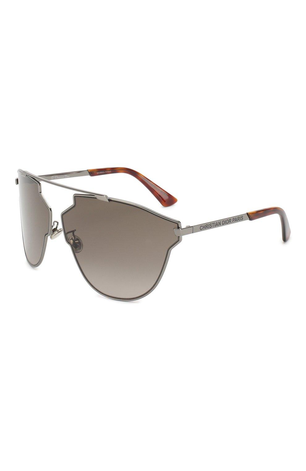 Женские солнцезащитные очки DIOR серого цвета, арт. DI0RS0REALFAST KJ1   Фото 1