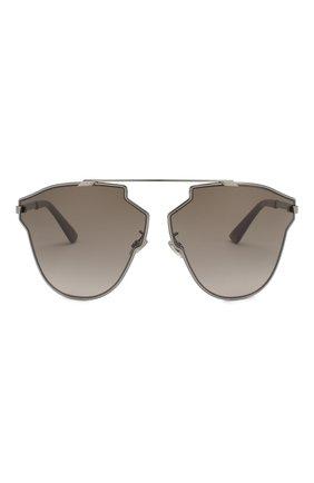 Женские солнцезащитные очки DIOR серого цвета, арт. DI0RS0REALFAST KJ1   Фото 3