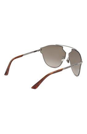 Женские солнцезащитные очки DIOR серого цвета, арт. DI0RS0REALFAST KJ1   Фото 4