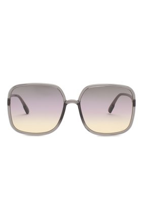 Женские солнцезащитные очки DIOR светло-серого цвета, арт. S0STELLAIRE1 KB7 | Фото 3