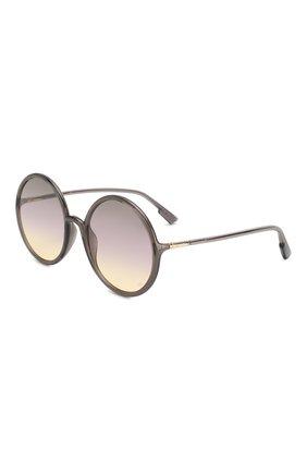 Женские солнцезащитные очки DIOR серого цвета, арт. S0STELLAIRE3 KB7 | Фото 1