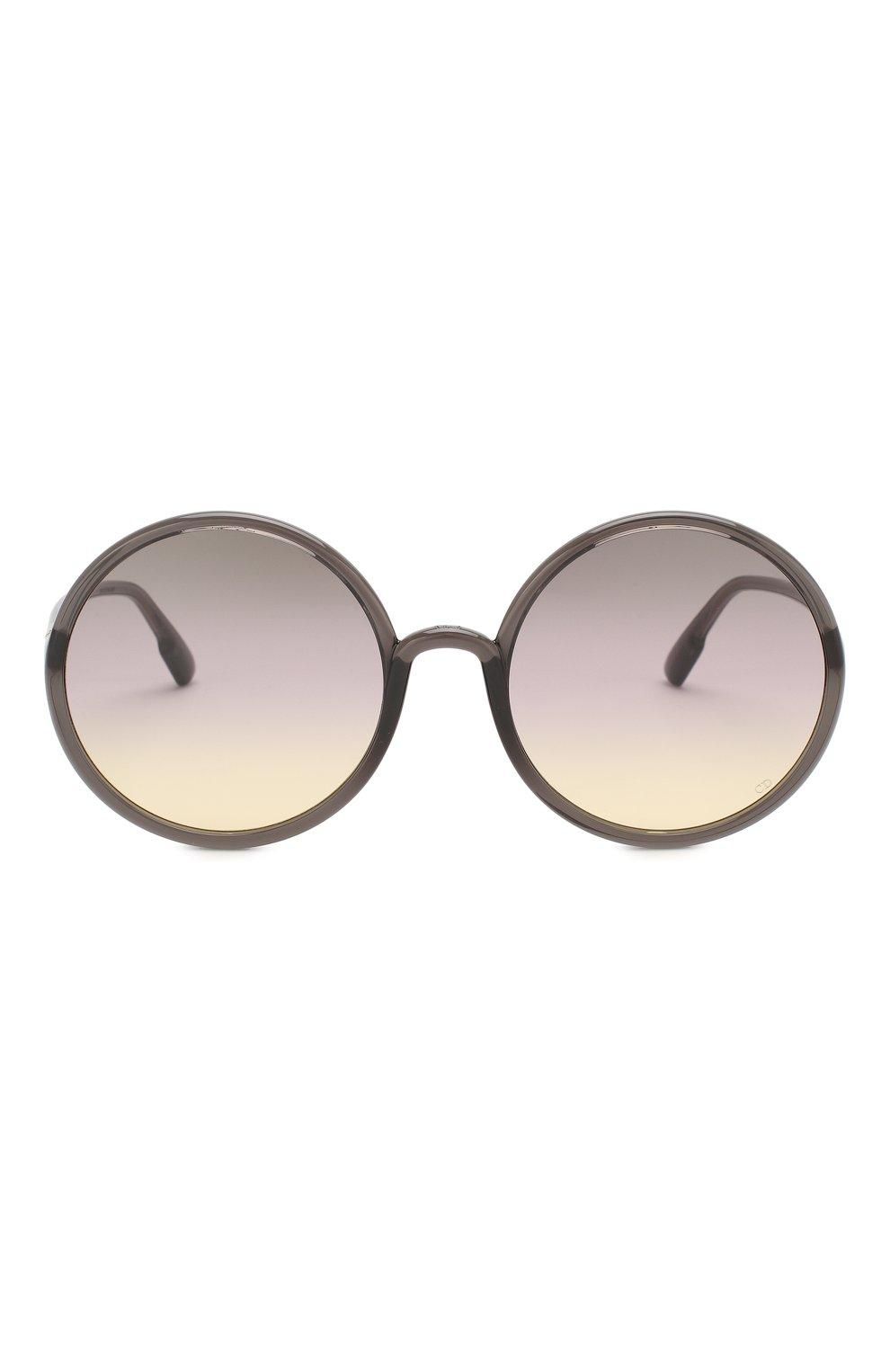 Женские солнцезащитные очки DIOR серого цвета, арт. S0STELLAIRE3 KB7 | Фото 3